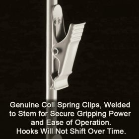 3 Wand, Free Standing Metal Snack Rack, 42 Hooks, FSS-3