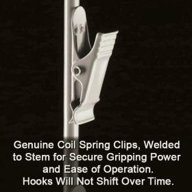 Double Sided Metal Merchandising Strip, 12 Hooks, MSDB-32
