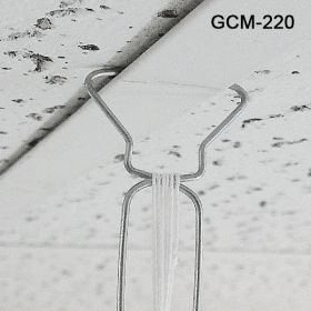 ceiling hanger with 6' white barbed cord, GCM-220