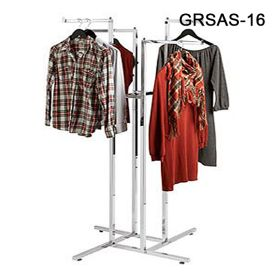 metal clothing rack with 4 arms, GRSAS-16