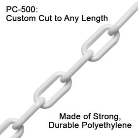 Plastic Chain, Cut to Any Length, PC-500