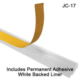 J-Channel Sign Holder, with Adhesive Back, JC-17