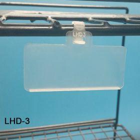 Econo Tag Wire UPC Locking Strap Reusable Label Holder, LHD-3