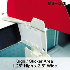 "The ""Max"" - Multi Hanger Display Strip, MSH-226"
