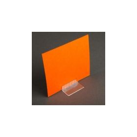 Straight Center Mount Sign and Card Holder, SCH-1