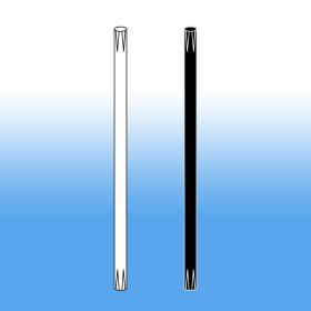 "White or Black, 8"" stem for sign holder frame, retail counter signage, SHA-004"