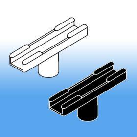 White or Black, Stem Mount   Sign Frame System Components - Display Signs, SHA-010