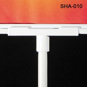 """Sign Holder """"mount"""" adapter connects a sign frame to 4"""" or 8"""" stems, SHA-010"""