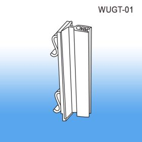 Warehouse and Gondola upright sign holder, WUGT-01