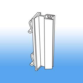 warehouse and gondola upright sign holder, WUGT-04