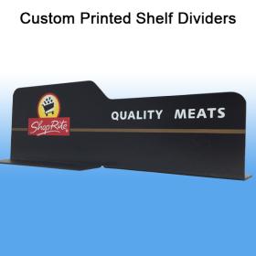 Custom Printed Shelf Dividers