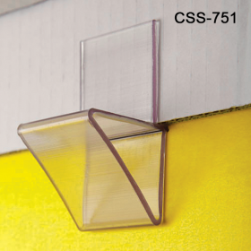 For Quick and Secure installation of corrugated shelves use our Corrugated Shelf Support Insert, Heavy Duty, Single Capacity, CSS-751