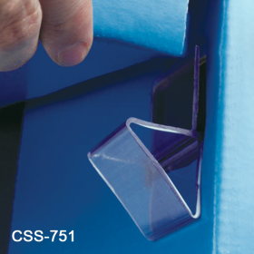 Corrugated Shelf Support Insert, Heavy Duty, Single Capacity, CSS-751, by Clip Strip Corp.