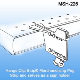 Multi Hanger - Plastic Product Display for Gondola Shelving, MSH-226