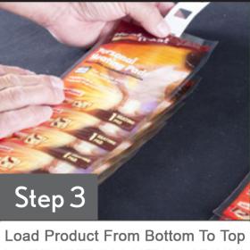 Clip Strip® Sticky Strips™ STEP 3