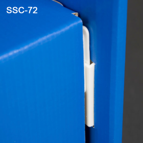 """1.875"""" Corrugated Shelf Support Clip, SSC-72, By Clip Strip Corp."""