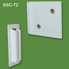 Strong corrugated display shelf supports, SSC-72
