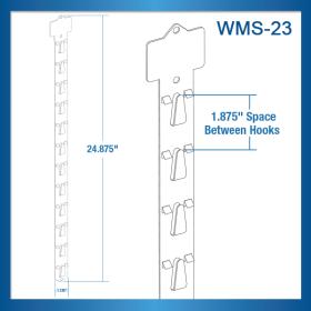 """Clip Strip's, WMS-23, Walmart® Approved """"Heavy Duty"""" Impulse Strip, MOLDED"""