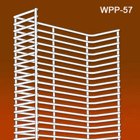 Clip Strip Corp Wire Power Panel Wing, Silver Metal, WPP-57. In-Stock and Ready To Ship!