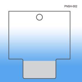 Clip Strip Accessories - Retail Display - Standard Peel N' Stick Clip Strip Header, PNSH-002